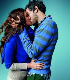 Gap 2012, Holiday Ad Campaign - Love Comes In Every Shade  *Photo: In Love, actress Diana Garcia and musician Greg Rogove
