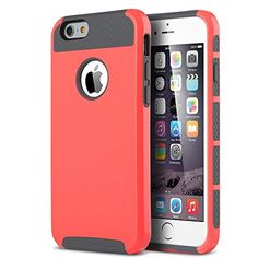 iPhone 6 Case, ULAK 2 in 1 Shield Hybrid Case for iPhone 6 4.7 inch Hybrid Dual Layer Hard Case for iPhone 6 4.7 inch TPU + PC Soft Hard Cover (2 in 1 Shield-Water Red) ULAK http://www.amazon.com/dp/B0111Q647Y/ref=cm_sw_r_pi_dp_3QKMvb1QG88ZQ