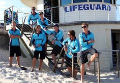 Bondi Rescue lifeguards