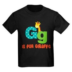 Custom Alphabet Letter G Tshirt #alphabet #tshirt #cute