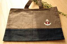 Lunch Bag ハンドメイド レッスンバッグ 男の子用イカリ インテリア 雑貨 Handmade ¥100yen 〆05月17日