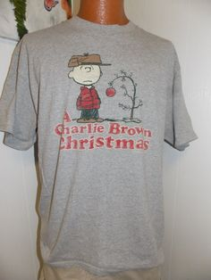Peanuts A Charlie Brown Christmas Adult T by PfantasticPfindsToo