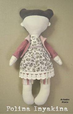 Mimin Dolls: Doll - Tutorial by Polina Inyakina