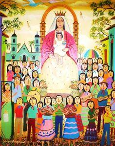 Nuestra Señora de Coromoto / 11 de Septiembre / Año: 1652 / Lugar: Guanare, Venezuela / Apariciones de la Virgen al Cacique Coromoto.