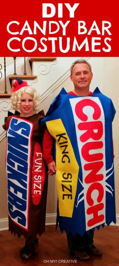 DIY Candy Bar Halloween Costumes