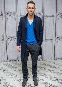 How to Dress Like Ryan Reynolds #StealHisStyle