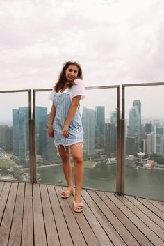 Shop the Look from elewithlove shop on ShopStyleSingapore look Festival Looks, Overall Dress, Forever 21 Dresses, Monki, Singapore, Spring Fashion, Fashion Looks, Ootd, Shirt Dress