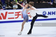 Kaitlin Hawayek and Jean-Luc Baker of the USA compete in the Ice dance free dance during the ISU Grand Prix of Figure Skating NHK Trophy on November 27, 2016 in Sapporo, Japan.