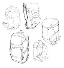 bagpack sketch