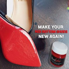 e17a6d62ac4 Touch up paint for Christian Louboutin red bottom shoes, matching exactly  the red lacquer of your CL shoes. Get your original shoe sole color now!