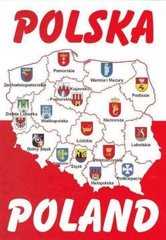 We were at a base in Drawsko-Pomorski Poland for 3 months in the winter. Poland Map, Poland Food, Poland Travel, Polish Words, Polish Names, Poland Culture, Learn Polish, Poland History, Polish Language