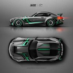 Car Wrapping Design -- Car Wrapping Design - The Ferrari and front-hinged one-piece carbon fiber hood opens up to reveal a Racing Car Design, Bike Design, Car Stickers, Car Decals, Drifting Cars, Tuner Cars, Car Posters, Car Painting, Rally Car