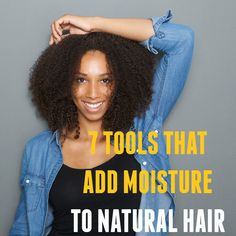 Other than moisturizing products, there are tools that can be used to help retain your hair's moisture balance. Here are 7 tools you may not have considered...