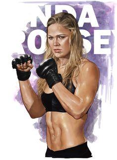 Ronda Rousey by BrandonArseneault.deviantart.com on @deviantART