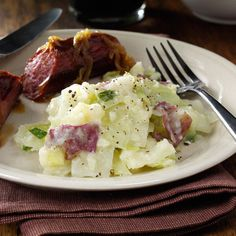 Easy Colcannon Recipe -This tasty and traditional Irish recipe for buttery potatoes and cabbage is good any time of year. —Pam Kennedy, Lubbock, Texas