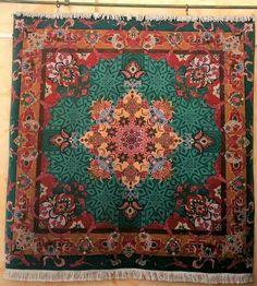 Tabriz.wool and silk.