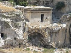 Tombs in the Kidron Valley - Jerusalem