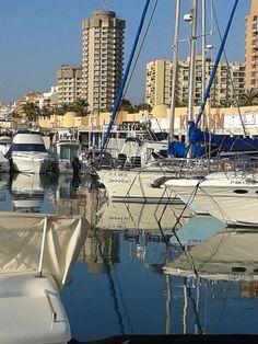 Puerto Deportivo, Fuengirola. Fuengirola in Malaga, Andalusia, Spain