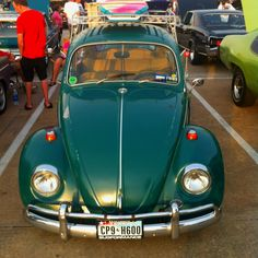 A bug we saw at a classic car show in Kemah