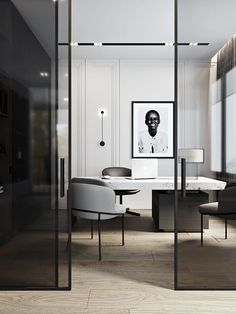 The Modern Office. – Executive Home Office Design Interior Design Software, Interior Design Photos, Office Interior Design, Luxury Interior Design, Home Office Decor, Office Interiors, Home Decor, Office Ideas, Corporate Interiors