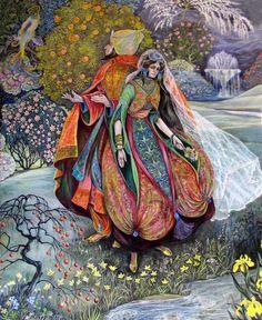 Pamela Colebourn - The Princess in the Enchanted Garden