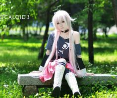 cosplay clothes / VOCALOID3/IA formula clothes