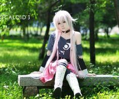 cosplay clothes / VOCALOID3/IA formula clothes