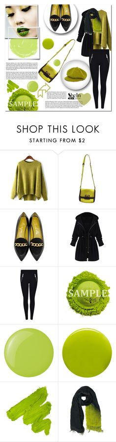 """Untitled #115"" by e-mina-87 ❤ liked on Polyvore featuring Marc by Marc Jacobs, Charlotte Olympia, Essie, Lauren B. Beauty, Faliero Sarti and Burberry"