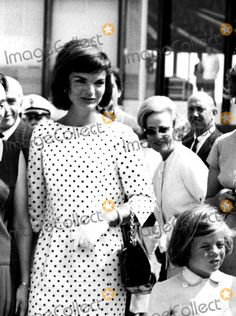 Jacqueline Kennedy Onassis and Daughter Caroline