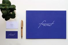 Frond Studio Identity on The Loop Creative Jobs, Creative Portfolio, Online Portfolio, Identity, Graphic Design, Studio, Homework, Projects, Log Projects