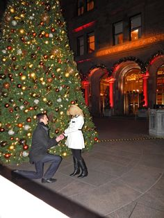 25 Holiday Proposals That Are Worthy Of A Champagne Toast