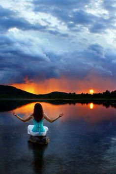 Meditation . . . wish I was this women sitting in that exact spot.