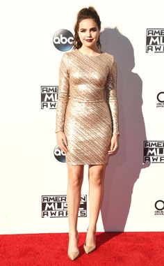Bailee Madison from 2015 American Music Awards: Red Carpet Arrivals  Once Upon a Time this beauty wowed in a glittery number.NEXT GALLERY: Singers Performing Live in Concert