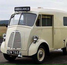 Morris J Ambulance Emergency Vehicles, Busses, Vintage Trucks, Classic Trucks, Cops, Fire Trucks, Jaguar, Cool Cars, Transportation