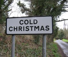 FUCKITANDMOVETOBRITAIN —  It's going to be a ......... Cold Christmas, Hertfordshire, England, UK