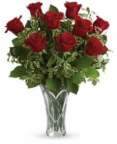 You Have My Heart Bouquet by Teleflora - Red #roses for #Valentine's Day 2014. Teleflora.com