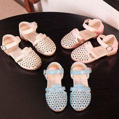 New Fashion Girls Kids Princess Shoes Toddler Child Soft Hollow Sandsals Flats - http://shoes.goshoppins.com/girls-shoes/new-fashion-girls-kids-princess-shoes-toddler-child-soft-hollow-sandsals-flats/