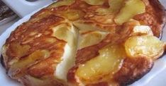 Cottage cheese and Apple casserole / Amazing Cooking Apple Recipes, Cake Recipes, Dessert Recipes, Desserts, Ricotta Cake, Atkins Diet, Cottage Cheese, Beautiful Cakes, Food For Thought