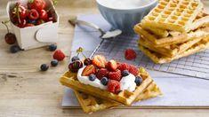 Sans Lactose, Food Goals, Beignets, Dairy Free, Breakfast, Recipes, Souffle, Galette, Desserts Fruits