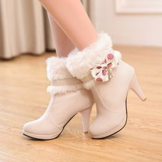 heels, boot, and fashion image
