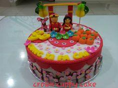 Imlek theme cake