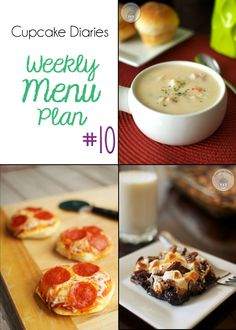 Cupcake Diaries Weekly Menu Plan # 10