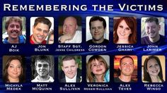 Victims of Aurora, CO movie theater shooting ... 7/20/12