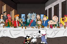 The Last Supper - Animation Domination
