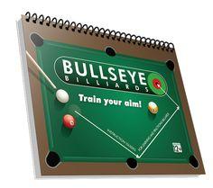 Bullseye Billiards Book Target Setting, Billiards Pool, The Book, Improve Yourself, Books, Products, Livros, Livres, Book