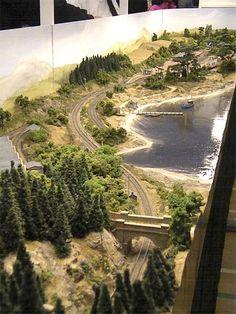 Model train Layout -