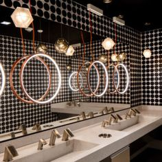 Cafe Restaurant, Restaurant Seating, Brewery Interior, Toilette Design, Restroom Design, Public Bathrooms, Bar Lounge, Shops, Retail Space
