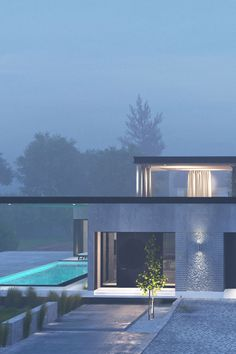 ❛ Villa in Moscow ❜Location: Moscow, Russia. Designed by: Kpa.su Renderings: made by Kpa.su