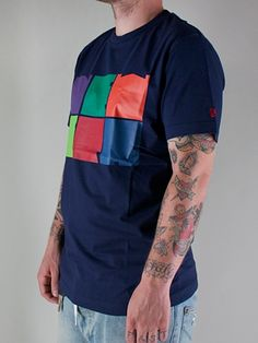 NEW ERA  THE BLOCKS TEE  T-shirt Manica Corta - navy  € 32,00  MORE INFOS: http://www.moveshop.it/ecommerce/index.php/it/articolo/25165/5226/THE%20BLOCKS%20TEE