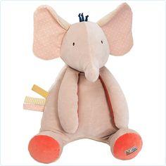 """Babyspielzeug - Großer Aktivitäten-Elefant """"Les Papoum"""" 55 cm - Moulin Roty - www.lolakids.de"""